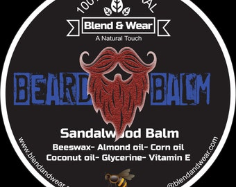 Beard Balm Sandalwood Costa Rica