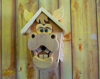 Horse Bird House