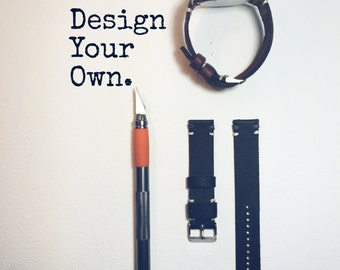 Custom Designed Leather Watch Strap
