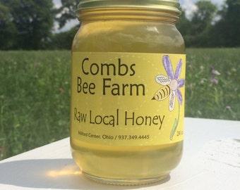 Summer ohio raw honey