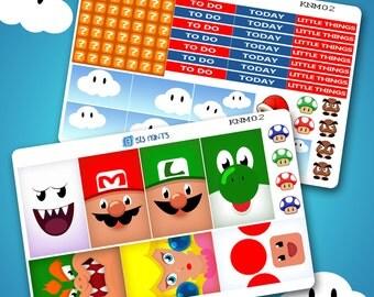 Nintendo Mario Kit - Erin Condren Planner and Happy Planner
