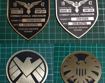 Captain America Shield Badges