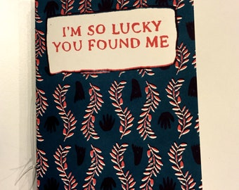 I'm So Lucky You Found Me: public land inside the city