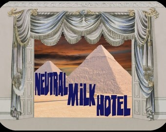 Neutral Milk Hotel, Band, T-Shirt (men's and Women's sizes available)