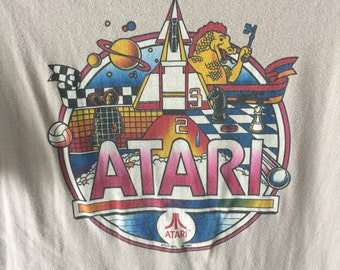 1982 Atari Video Game Promotional T Shirt