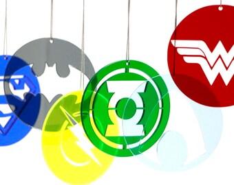 Justice League Christmas Ornaments