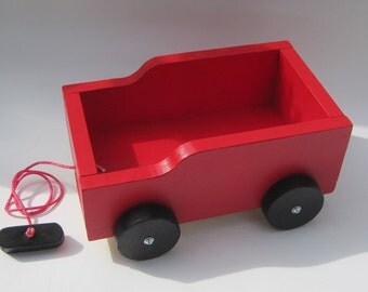 Red Wagon pull toy