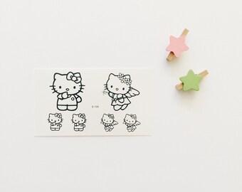 Hello Kitty Cute Temporary Tattoo