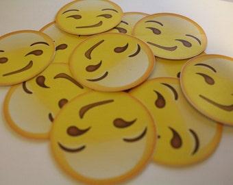 Emoji Smirk Sticker