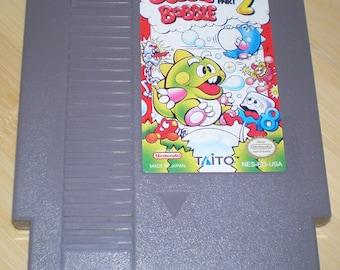 Bubble Bobble 2 Nintendo NES Reproduction