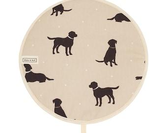 Insulated Aga Chefs Pad - 'Good dog!' design