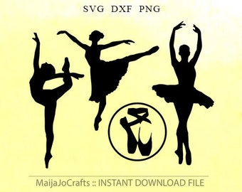 Ballerina SVG Gymnastic svg Gymnastics svg DXF Ballet Svg Files, Vinyl Project Files For Silhouette, Ballet Cut Files Cricut downloads