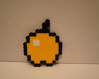 Golden Apple Pixel Art