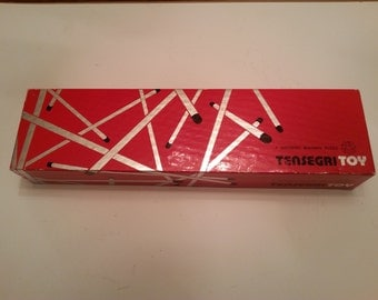 "Vintage Game Toy Puzzle Building ""Tensegri Toy"" Building Puzzle"
