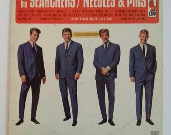 Vintage Record Album Searchers/Needles & Pins Kapp Records