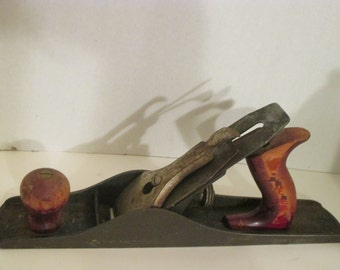 """Stanley Defiance Wood Plane  14"""" Long---Made in USA--Vintage"""