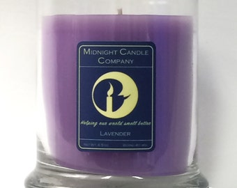 Lavender Scented Candle, 75 Hour Burn Time