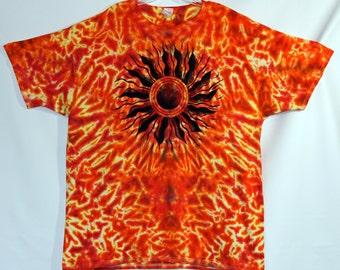 Sun Tie Dye Short Sleeve Adult XXL