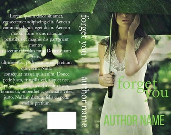 Forget You PreMade Book Cover