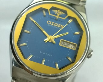 MEN'S CITIZEN JAPAN Vintage automatic watch