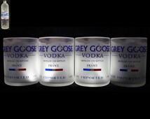 Set of 4 Grey Goose Premium Rocks Glasses