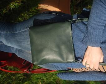 Handbag genuine leather handmade