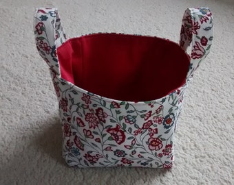 Small Fabric Storage Cube With Handles, Storage Cube, Fabric Storage  Basket, Storage Container