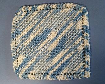 Knit dishcloth set, cotton dishcloths, cotton dishcloth set, knit cotton dishcloths, knit cotton dishcloth set