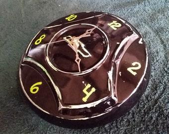 1965 Chevrolet hubcap clock