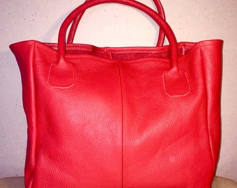 tote bag 100% pure handmade leather