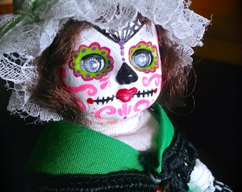 Day of the Dead Girl Doll