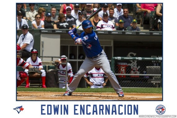 Edwin Encarnacion Toronto Blue Jays Canvas Wrap