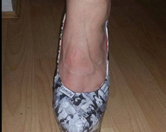 personalised picture shoes