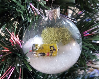 Coors Beer Christmas Ornament