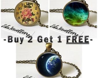 Pendant Sale, Buy 2 Get 1 FREE, Discount