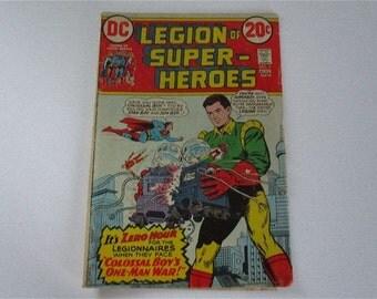 Vintage Legion of Super Heroes Comic DC No 4 1973
