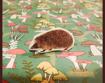 """Ring adjustable hedgehog """"s'y frotte s'y pique"""""""