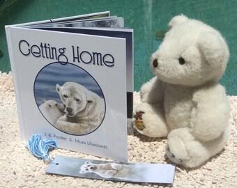 GETTING HOME - a children's picture book, Polar Bears, Polar Bear Cub, Arctic Circle, North Pole, Aussie author/illustrator collaboration