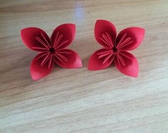 2-colour Origami Kusudama Flowers