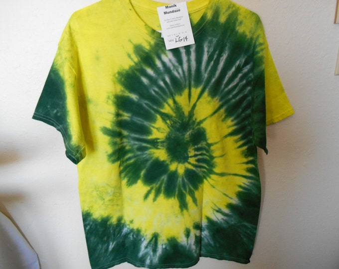 100% cotton Tie Dye T-shirt MMLG14 Size Large