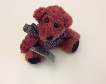 "JB Bean ""Toe"" Investment Collectible Bear"
