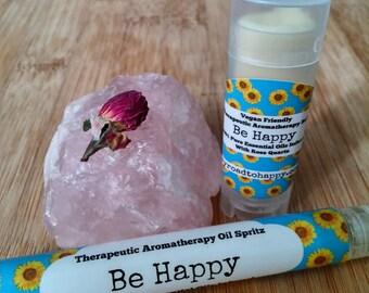 Be Happy - Uplifting Mood Enhancing Aromatherapy Aid