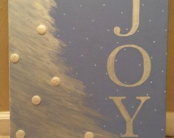 Wintertime Canvas - Joy