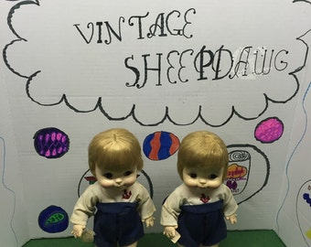Effanee twin dolls 1966