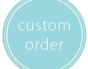 Custom Wedding Signage Order - Amy C.