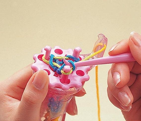 Knitting Knobby Projects : Sale clover wonder knitter knobby spool loom beaded