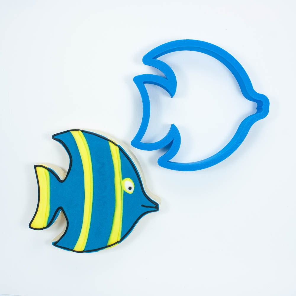 Angel fish cookie cutter for Fish shaped cookie cutters