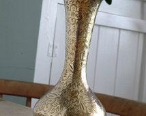 Indian Brass Vase Vintage Ornament