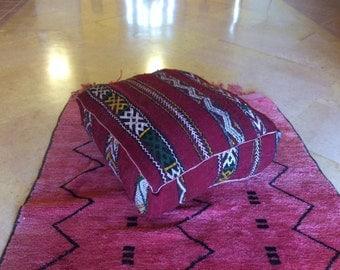 pouf moroccan , wool