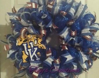 UK Football Wreath